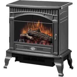 120 Volt Gloss Pewter Electric Stove thumb
