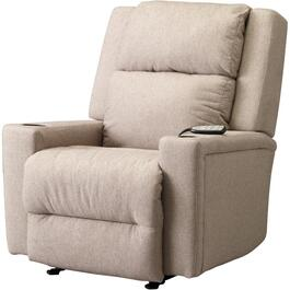 Linen Ahser Space Saver Recliner thumb