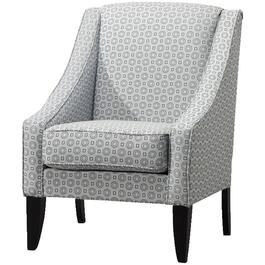 Blue Silver Rollplay Accent Chair thumb