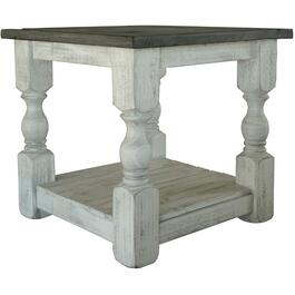 Stone Square End Table thumb