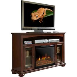 "56"" Cherry Everest Media Fireplace thumb"