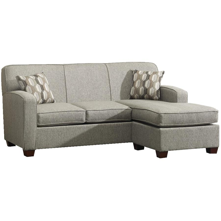 Downtown Grey Sofabed With Chaise