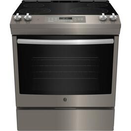 "24"" 5.3 cu. ft. Slate Slide-In Electric Range thumb"