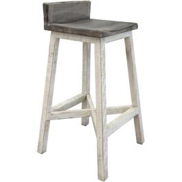 "30"" Stone Collection Wooden Bar Stool thumb"