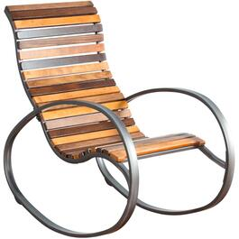 Eucalyptus Metal Rocker thumb