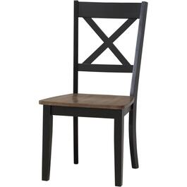 Black A La Carte Wood Side Chair thumb