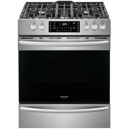 "30"" Stainless Steel Convection Gas Range thumb"