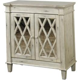 2 Door Distressed Grey Console thumb