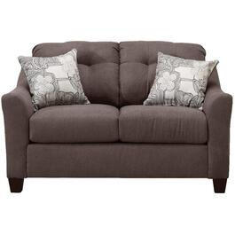 Charcoal Encino Loveseat thumb