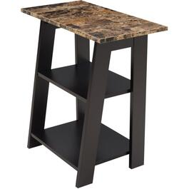 Tiered Rectangular Chairside Table thumb