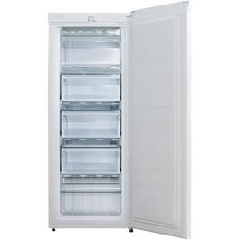5.3 cu. ft. White Vertical Freezer thumb