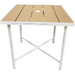 "30"" Square Country French Slat Top Dining Table thumb"