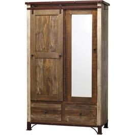 2 Door, 2 Drawer Antique Armoire thumb