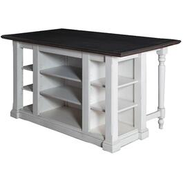 Carriage House Kitchen Island, with Drop Leaf thumb
