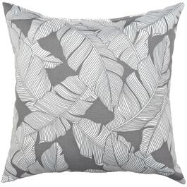 "16"" Square Multi-Leaf Throw Pillow thumb"
