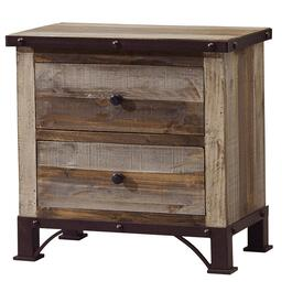 2 Drawer Antique Night Table thumb