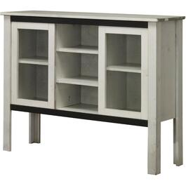 2 Door Vintage Cotton over Grey Console thumb