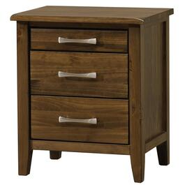 3 Drawer Brindle Brown Scarlett Night Table thumb