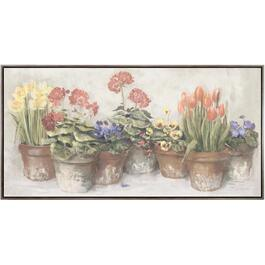 "32"" x 62"" Spring In The Greenhouse Wall Plaque thumb"