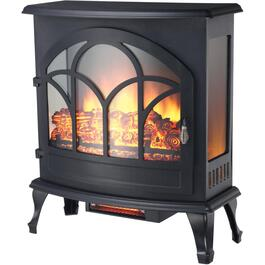Black Panoramic Infrared Electric Stove thumb