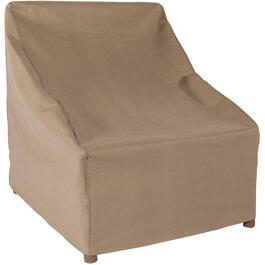 "30"" x 28"" x 49"" Latte Patio Stackable Chair Cover thumb"