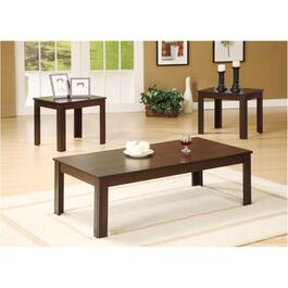 3 Piece Espresso Table Set thumb