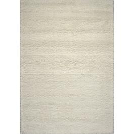 6' x 8' Opus Cream Shag Area Rug thumb