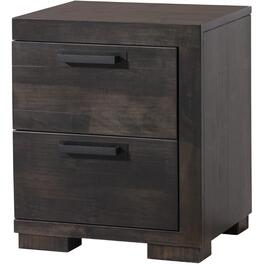 2 Drawer Right Hand Facing Graphite Mirabel Night Table thumb