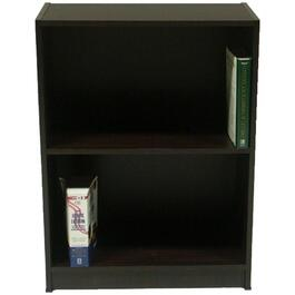 "2 Tier 23.5"" x 31.5"" Chocolate Odell II Bookcase thumb"