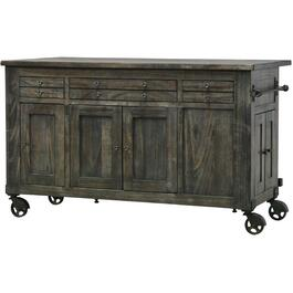 Warm Grey Moro Kitchen Island thumb