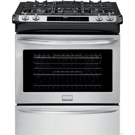 "30"" Stainless Steel Slide-In Gas Range thumb"