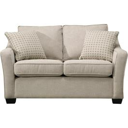 Aiden Platinum Zeal Loveseat thumb