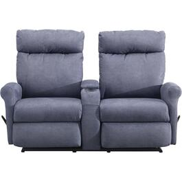 Codie Space Saver Recliner Loveseat, with Console thumb