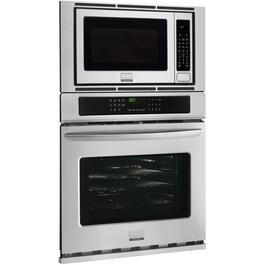 "30"" Stainless Steel Wall Oven, with Microwave thumb"