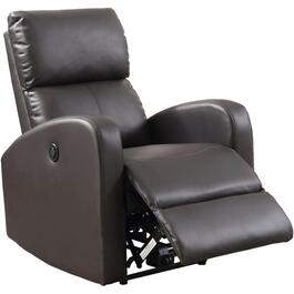 Brown Power Recliner thumb