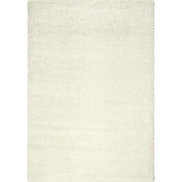 6' x 8' Boulevard Soft Shiny Cream Area Rug thumb