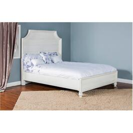 White Carriage House King Bed thumb
