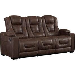 Badlands Walnut Solana Power Recliner Sofa thumb