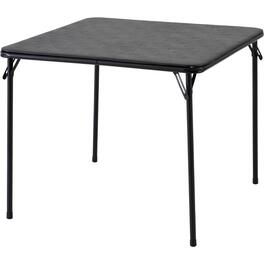 "34"" Black Folding Card Table thumb"