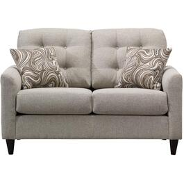 Beige Elevation Loveseat thumb
