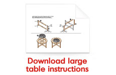 Download large table instructions