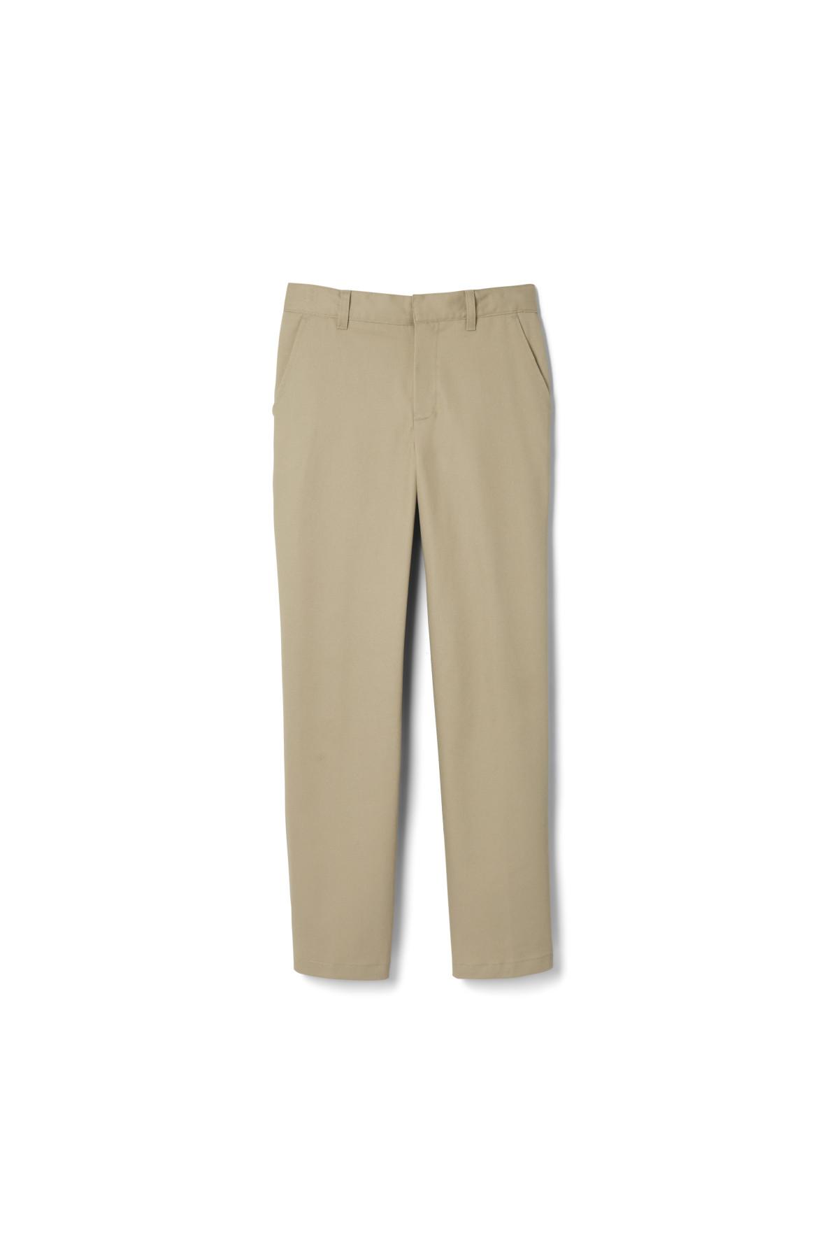Boys School Uniform Adjustable Waist Regular Fit Teflon Coating Formal Trousers