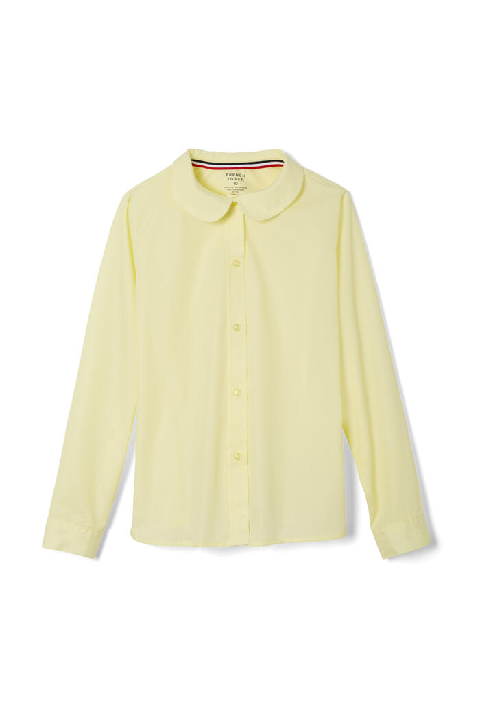 Product Main Image of Long Sleeve Modern Peter Pan Blouse