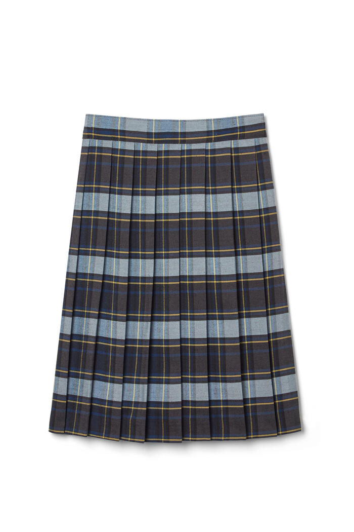 Product Main Image of New! Plaid Below the Knee Skirt