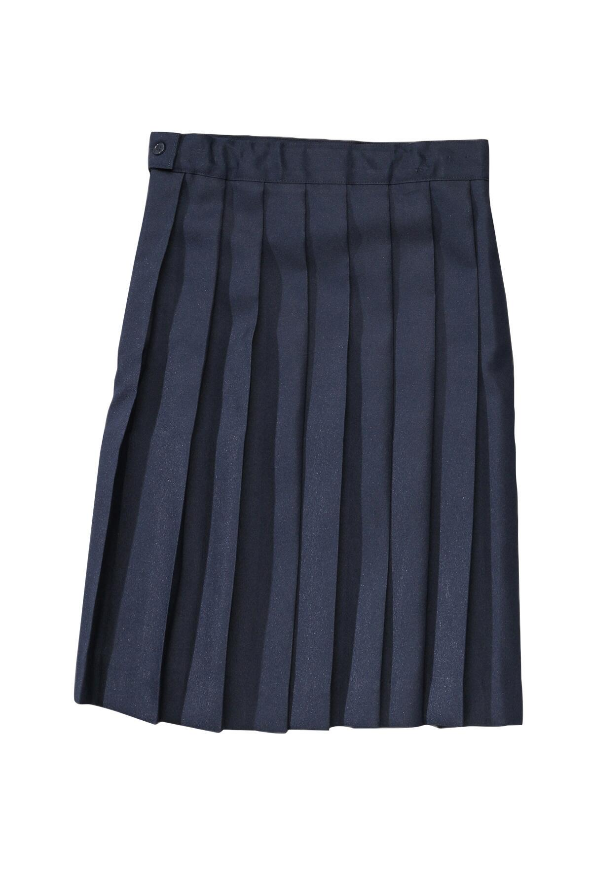 99c2edd40 Below The Knee Girl's Pleated Uniform Skirt, Size 4-7| French Toast - French  Toast