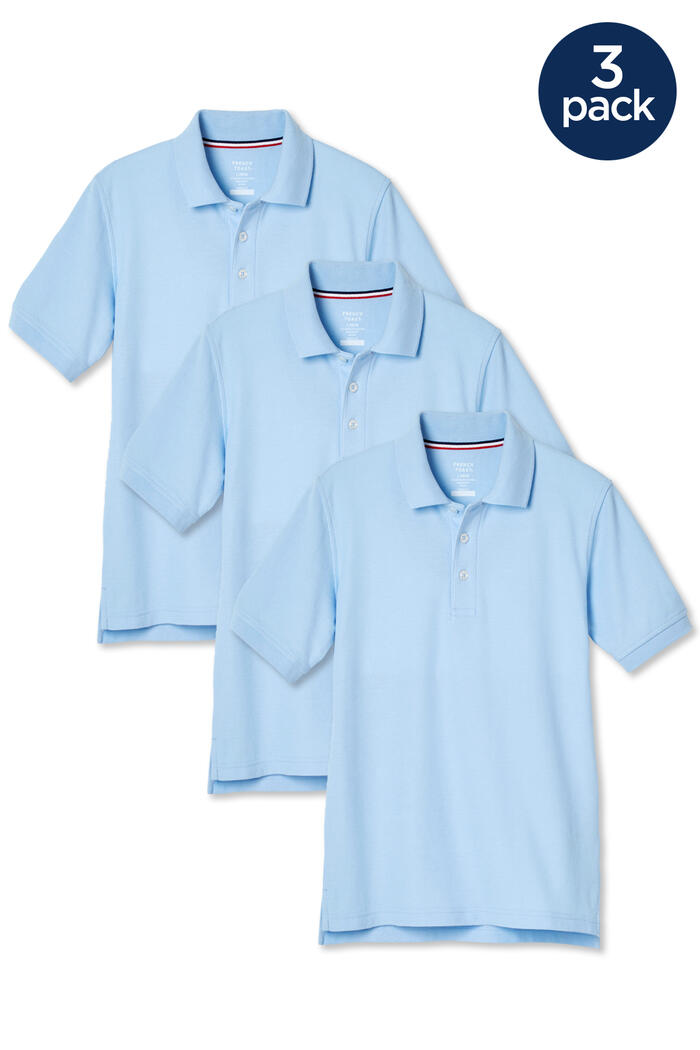 Product Main Image of Short Sleeve Pique Polo 3-Pack