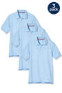 Front view of Product Image of Short Sleeve Pique Polo 3-Pack opens large image