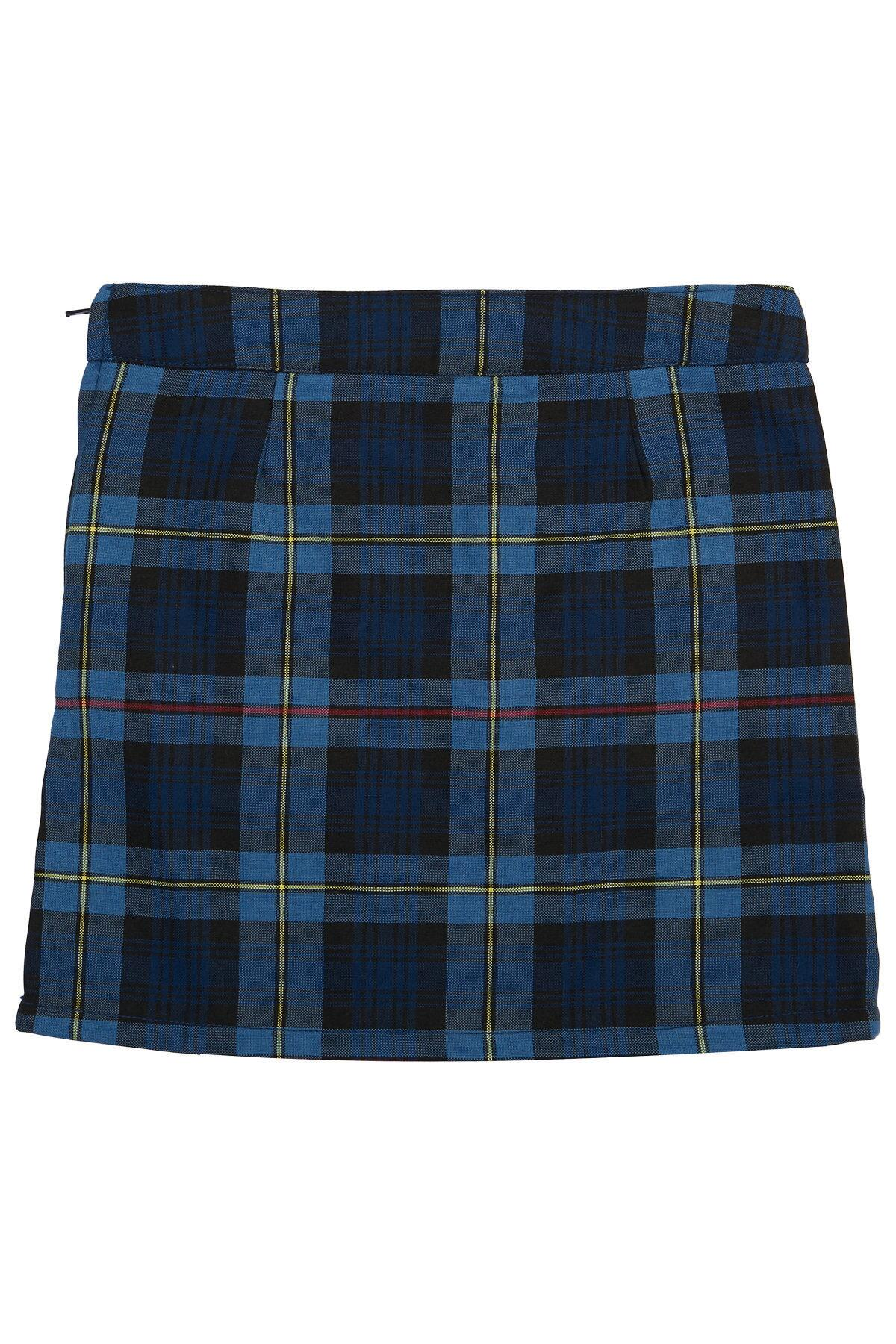 b6de2f3e0 Girls Plaid Two-Tab School Uniform Scooter Skirt, 4-6x| French Toast - French  Toast