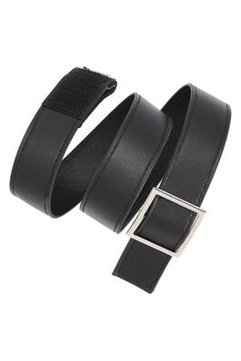 of Velcro-Closure Leather Belt