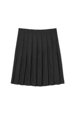 46a6e8fd9c Girls Below The Knee Pleated School Uniform Skirt, 4-6x  French Toast -  French Toast